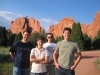 the guys at Garden of the Gods